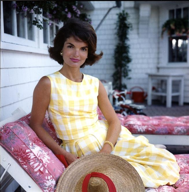 La first lady Jacqueline Kennedy