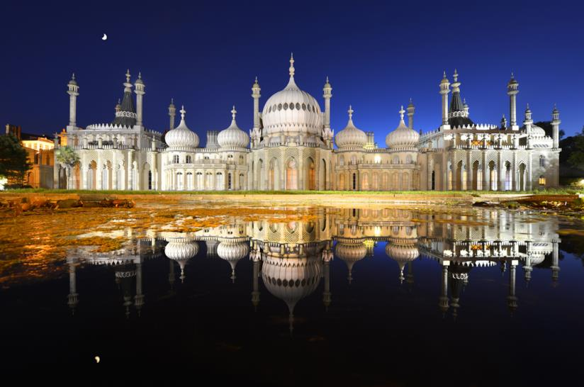 L'esotica architettura del Royal Pavilion