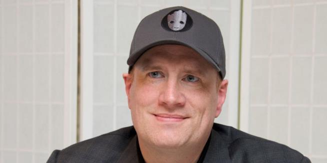 Kevin Feige, produttore e presidente dei Marvel Studios