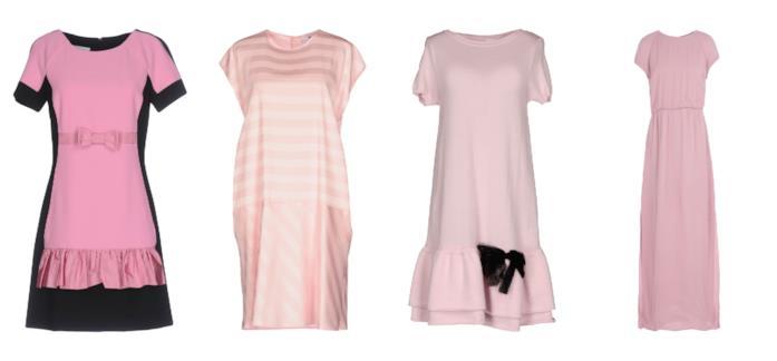 Gli abiti modello a t-shirt di tendenza per l'estate 2018