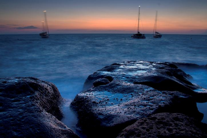 Tramonto dall'Isola di Ventotene