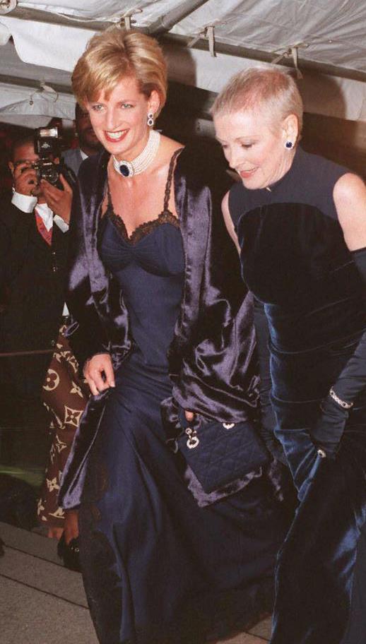 Principessa Diana al MET Gala 1996