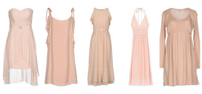 Mini abiti e vestiti corti in rosa per l'estate 2018