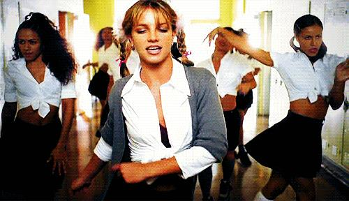Britney Spears negli anni '90
