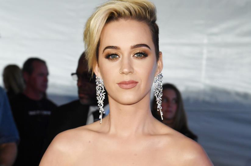La pop star Katy Perry