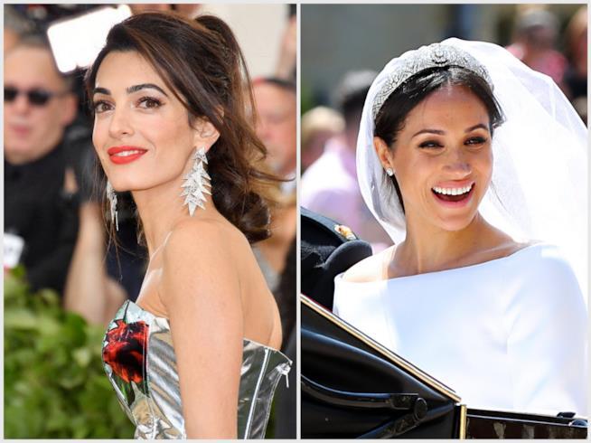 Amal Clooney e Meghan Markle