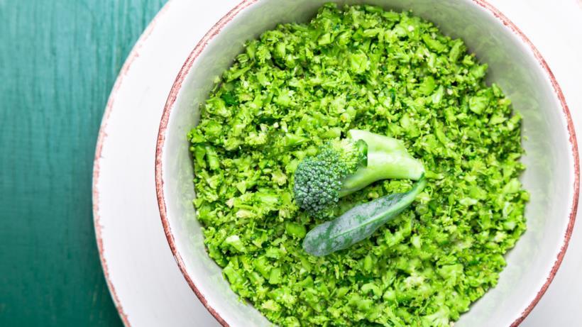 Riso pilaf con broccoli e mandarino