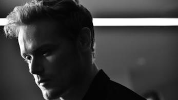 L'attore Sam Heughan