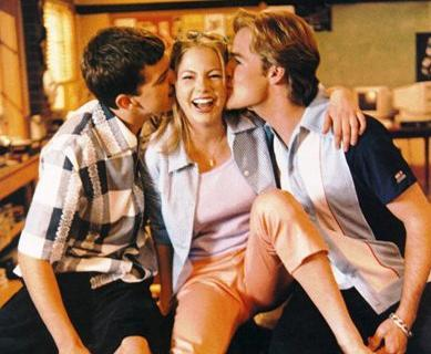 il trio Pacey, Jen e Dawson