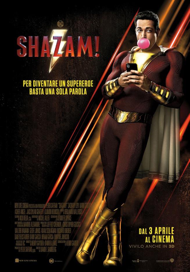 Il poster di Shazam