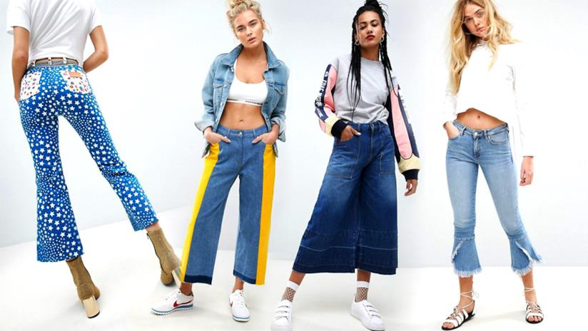 Pantaloni a zampa di elefante modelli 2019