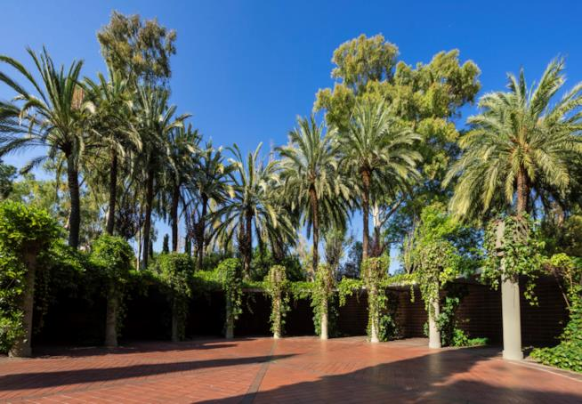 Un giardino nella Fabrica di Ricardo Bofill