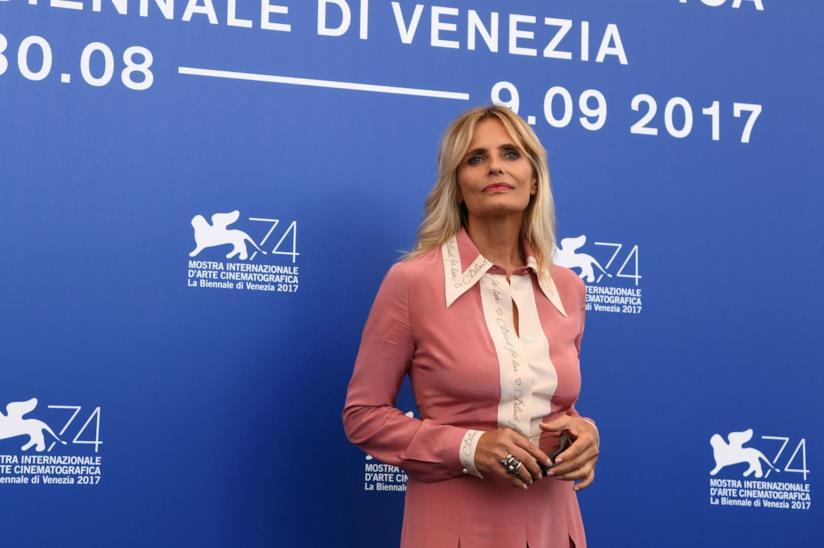 Isabella Ferrari alla Mostra del cinema di Venezia 2017