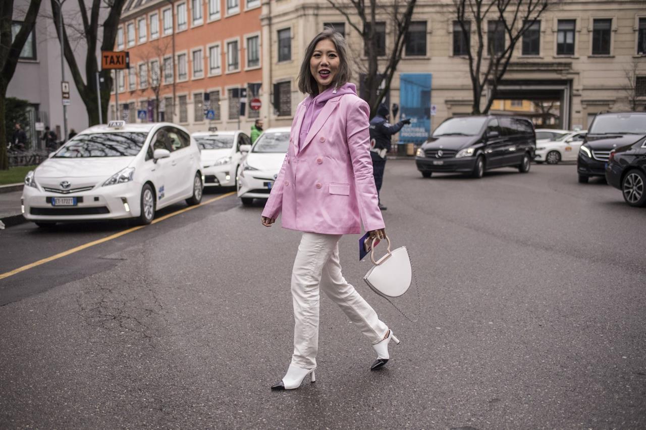 Uni street style della MFW