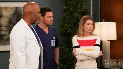 Un'immagine dal finale di Grey's Anatomy 15