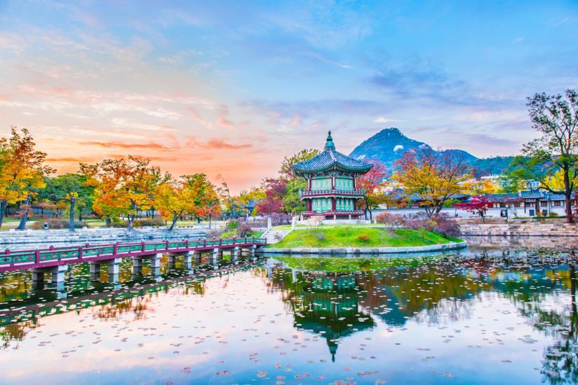 Il padiglione del Palazzo di Gyeongbokgung