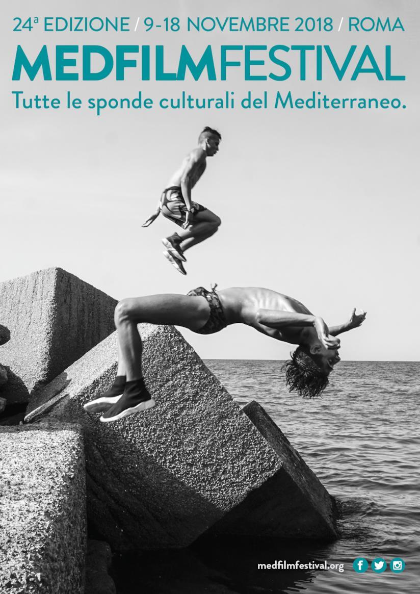 Manifesto ufficiale del MedFilmFestival - Tutte le sponde culturali del Mediterraneo