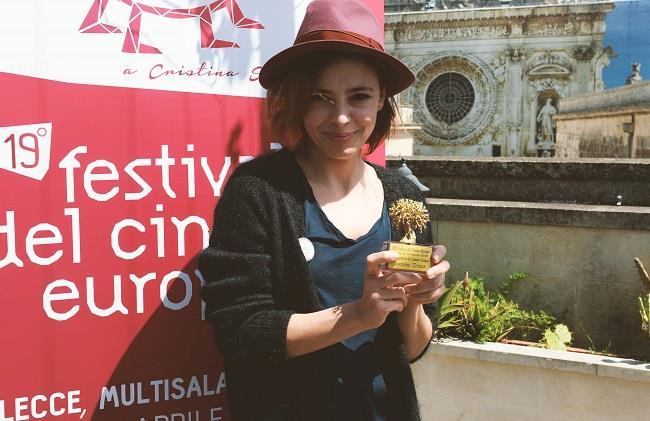 Jasmine Trinca, premiata la sua carriera al Festival del cinema europeo di Lecce