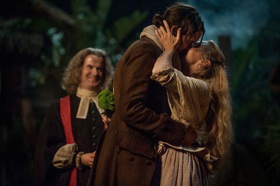 Fergus bacia sua moglie Marsali