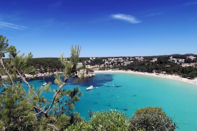 Cala Galdana, Minorca, Isole Baleari