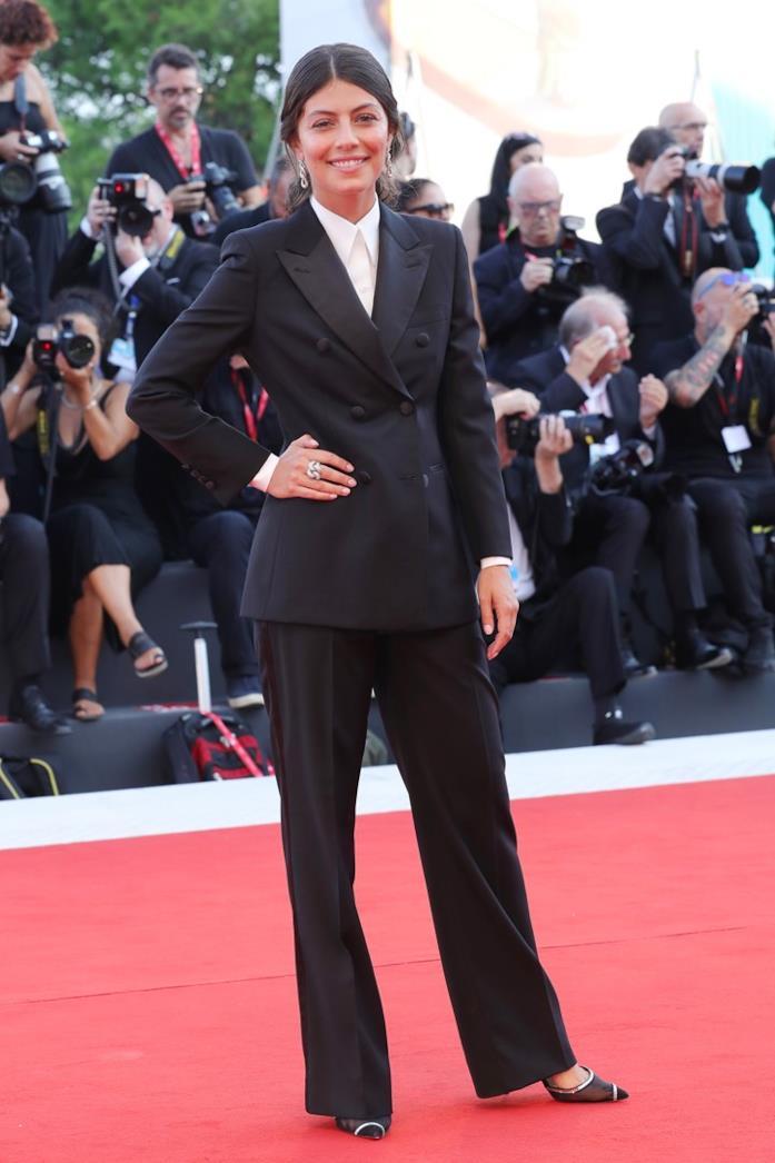 Alessandra Mastronardi sul red carpet di J'accuse