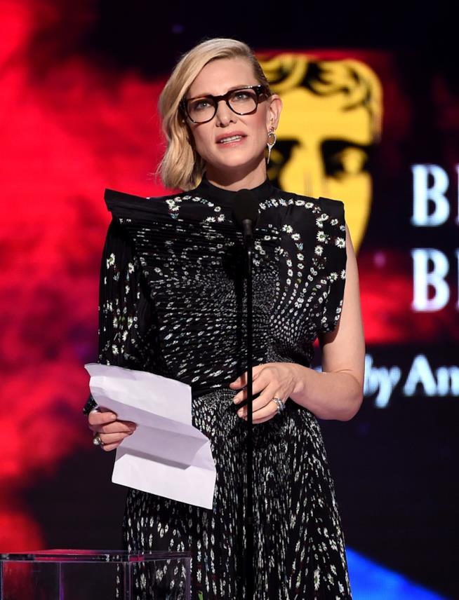 Cate Blanchett tiene un discorso