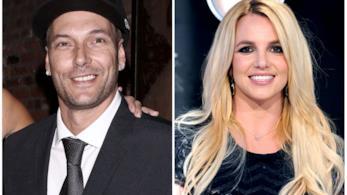 Collage tra Britney Spears e Kevin Federline