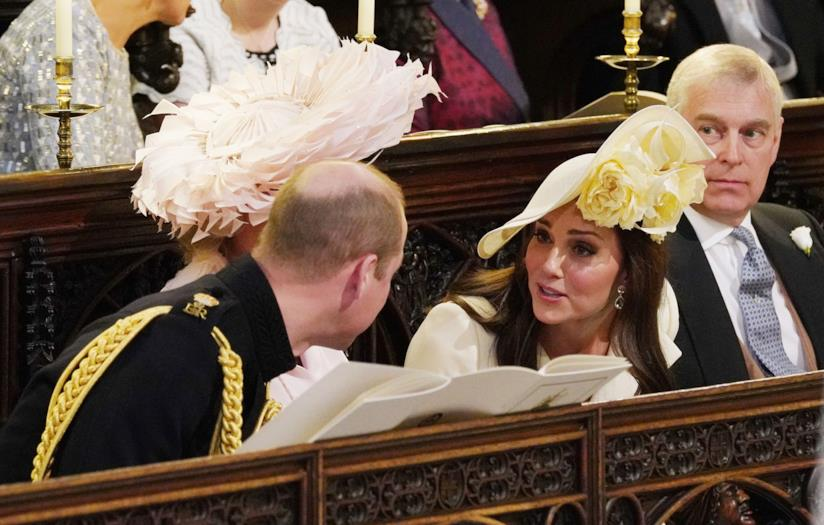 Royal Wedding - Kate Middleton in giallo