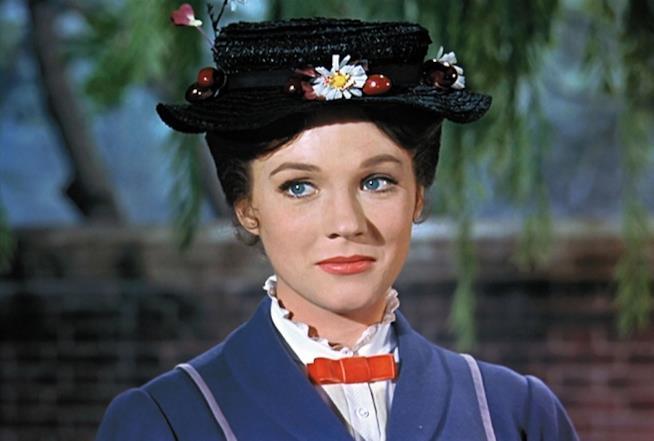 Judie Andrews è Mary Poppins