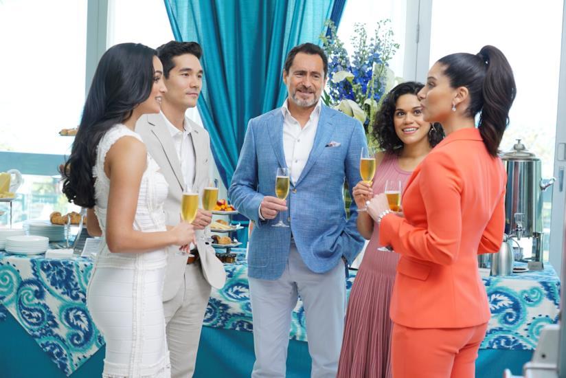 Un'immagine dal primo episodio di Grand Hotel