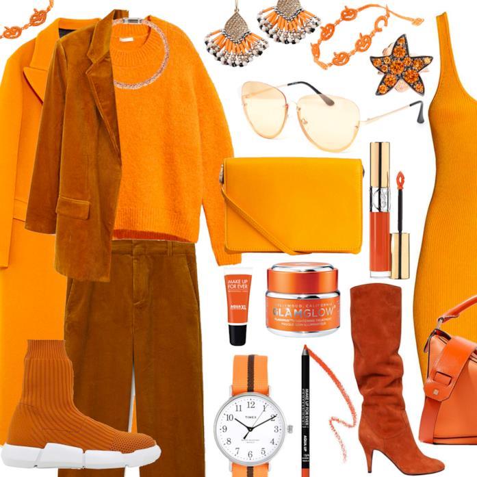 Idee per vestirsi di arancione ad Halloween