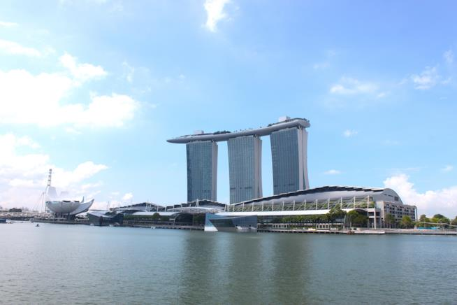 Il resort Marina Bay Sands