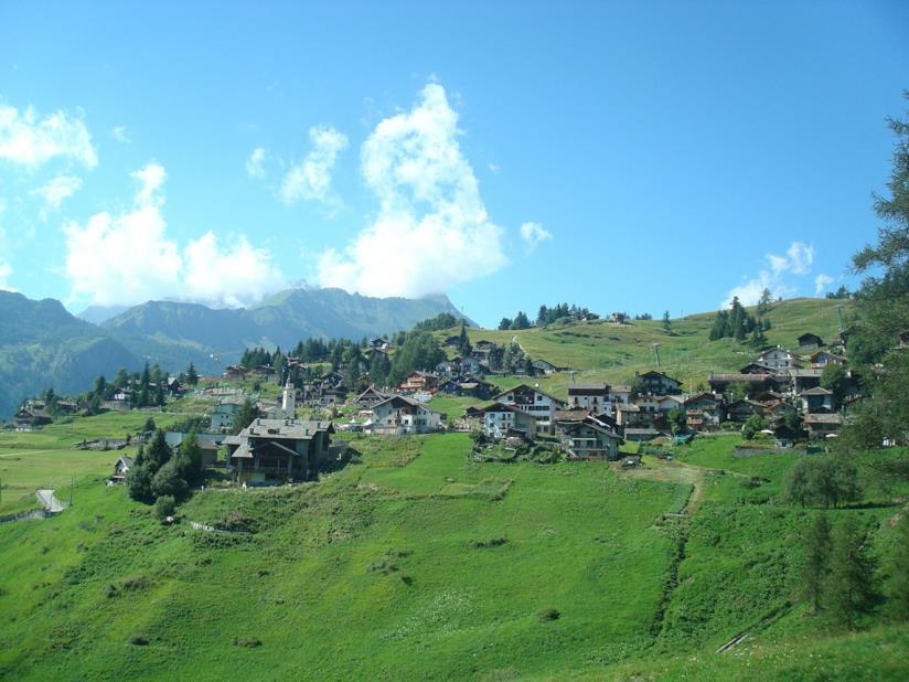 Vacanze senza auto a Chamois, in Valle d'Aosta