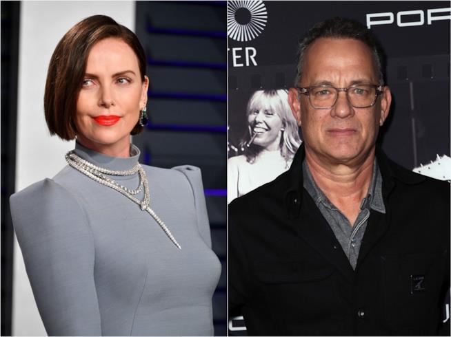 Charlize Theron e Tom Hanks