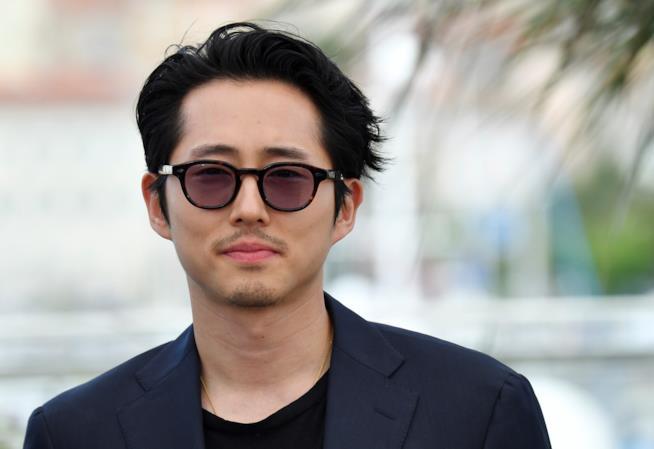 Primo piano di Steven Yeun