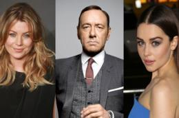 Ellen Pompeo, Kevin Spacey e Emilia Clarke