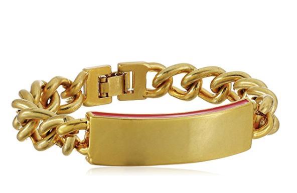 Bracciale dorato con catena della linea Dear Drew