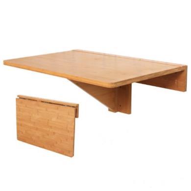 Tavolo da muro in 100% bambù