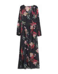 Vestito longuette a fiori