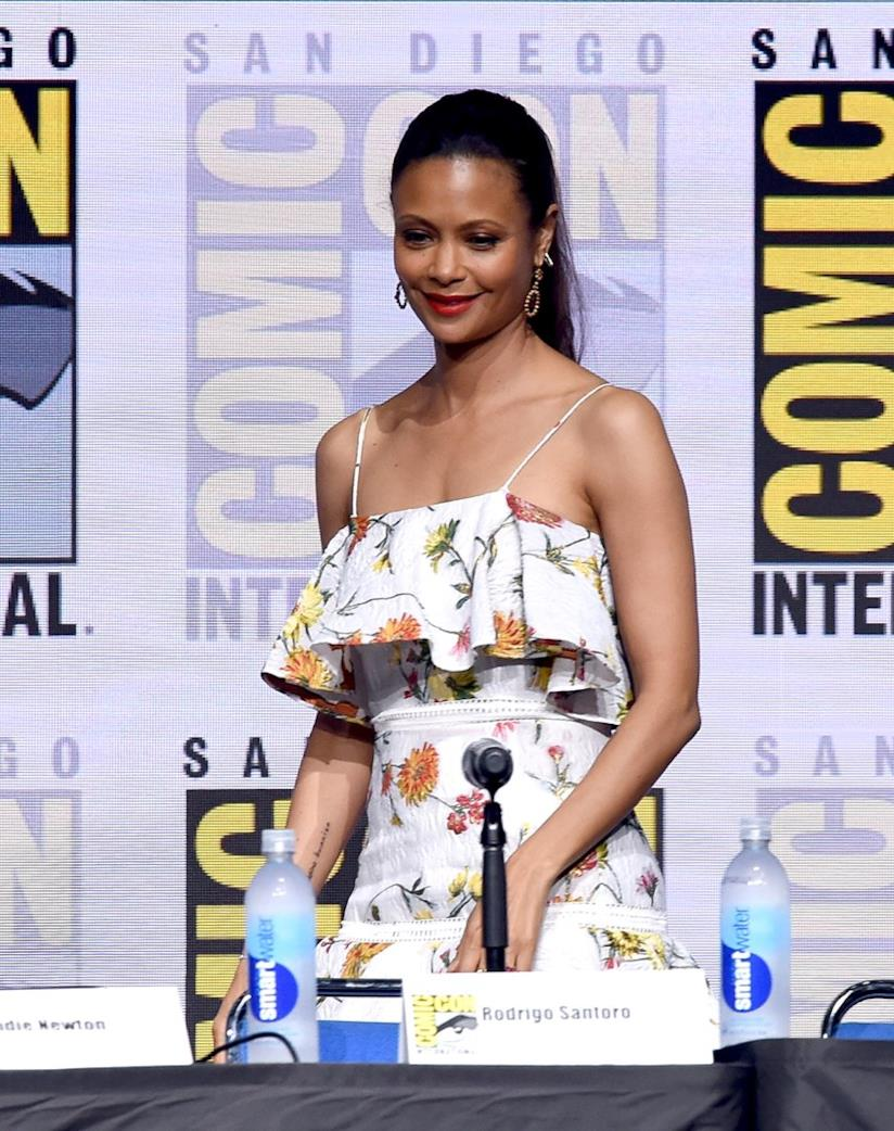 Thandie Newton al Comic-Con 2017