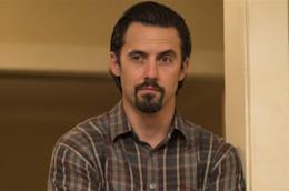 Milo Ventimiglia in un'immagine dalla seconda stagione di This Is Us