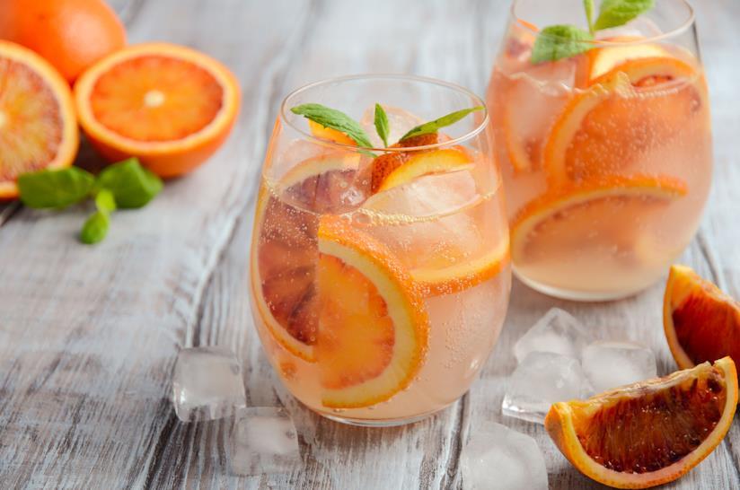 Bevanda all'arancia