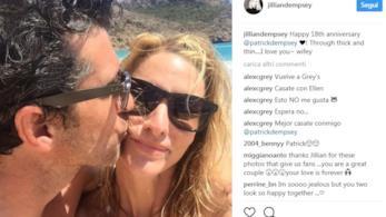 Il post della moglie di Patrick Dempsey