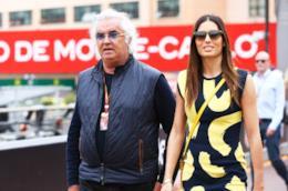 Elisabetta Gregoraci insieme al marito Flavio Briatore