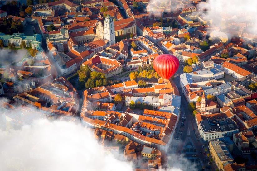 Vilnius, capitale della Lituania