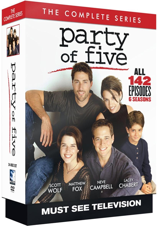 Cofanetto DVD di Party of Five - Seasons 1-6