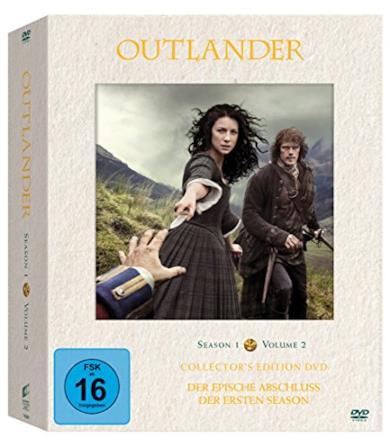 Cofanetto DVD di Outlander - Stagioni 1-2