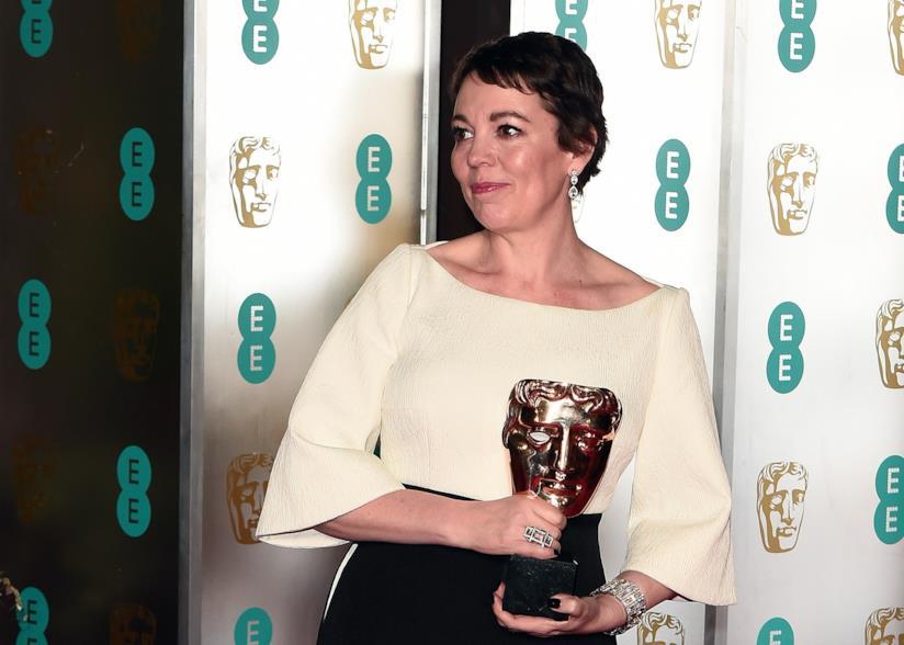 Olivia Colman ai premi BAFTA 2019