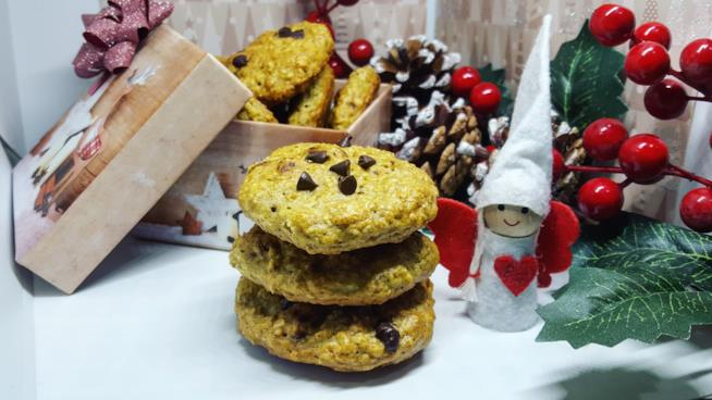 Cookie con gocce di cioccolato