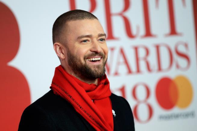 Il cantante Justin Timberlake